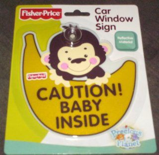 Fisher Price Car Window Sign Automotive