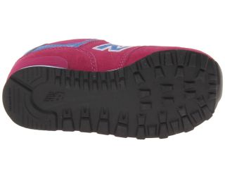 New Balance Kids KV574 (Toddler) Fuchsia
