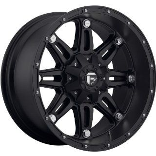 Fuel Hostage 17 Black Wheel / Rim 6x135 & 6x5.5 with a  12mm Offset and a 106.4 Hub Bore. Partnumber D53117909845 Automotive