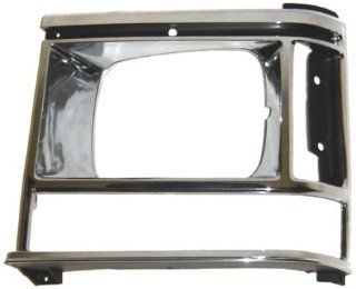 OE Replacement Dodge Caravan/Plymouth Voyager Driver Side Headlight Door (Partslink Number CH2512107) Automotive