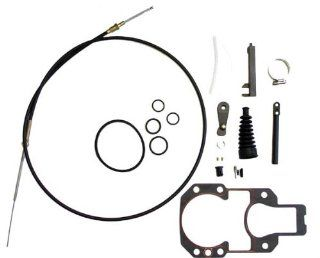 MERCRUISER ALPHA ONE SHIFT CABLE ASSEMBLY KIT  GLM Part Number 21450; Sierra Part Number 18 2603; Mercury Part Number 865436A03 Automotive