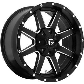 Fuel Maverick 20 Black Wheel / Rim 8x6.5 with a 1mm Offset and a 125.2 Hub Bore. Partnumber D53820908250 Automotive