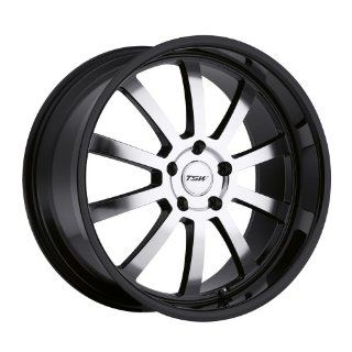 TSW Willow 17 Black Wheel / Rim 5x4.5 with a 20mm Offset and a 76 Hub Bore. Partnumber 1780WIL205114B76 Automotive
