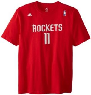 NBA Men's Houston Rockets Yao Ming Gametime Name & Number Tee (Red, XX Large)  Apparel  Clothing