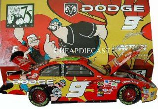 Kasey Kahne #9 Popeye Popeye's 75th Anniversary Special Paint Scheme Opneing Hood, Opening Trunk Action Racing Collectibles ARC 1/24th Scale Limited Edition Only 4320 Produced Toys & Games