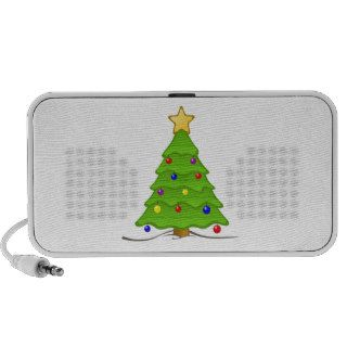 Christmas Tree Notebook Speaker