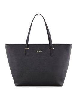cedar street harmony tote bag, black   kate spade new york