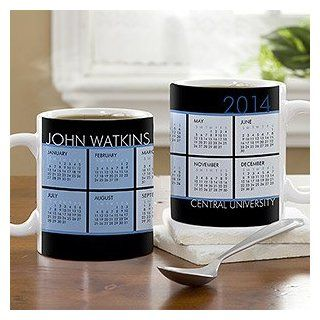 Personalized Coffee Mug Calendars   It's A Date Kitchen & Dining