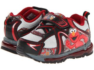 Favorite Characters Sesame Street Elmo 1sef325 Lighted Shoe Toddler Grey Black