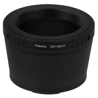 Fotodiox Lens Mount Adapter, T mount Lens to Nikon 1 Series Camera, fits Nikon V1, J1 Mirrorless Cameras  Camera & Photo