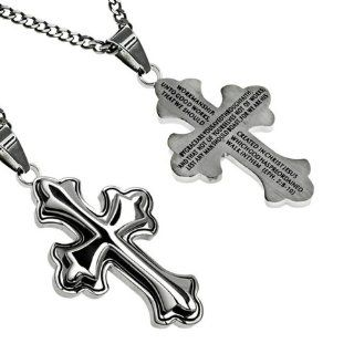 "Christian Mens Stainless Steel Abstinence ""By Grace You Are Saved Through Faith; and That Not of Yourselves Not of Works, Lest Any Man Should Boast. For We Are His Workmanship, Created in Christ Jesus Unto Good Works, Which God Has Preordained That We"