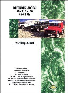 Land Rover Defender 300 Tdi 1996 1998 Brooklands Books Ltd 9781855205048 Books