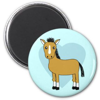 Cute Cartoon Horse Fridge Magnets