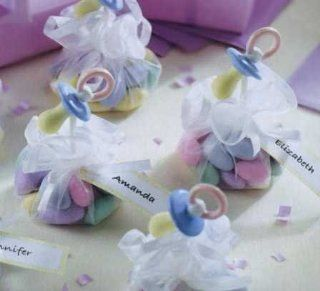 Sweet Things Pacifiers Baby Shower Favor Kit   Makes 6  Baby Shower Party Invitations  Baby