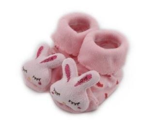 Cartoon Baby Girl Boy Anti slip Socks Slipper Shoes Boots 0 6M Many patterns Red Rabbit Baby