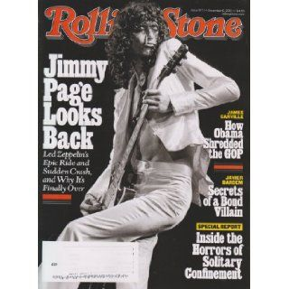 Rolling Stone December 6, 2012 Jimmy Page Looks Back Books