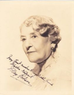 May Robson Original Vintage Signed Autograph on a 1935 Portrait Entertainment Collectibles