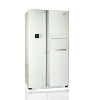 LG GW C227WVQV Side by Side K�hlschrank mit 560l, Soft Touch Barfach, LED, EEK A+, Linear Kompressor mit nur 40dB, No Frost, Magic Crisper Elektro Gro�ger�te