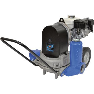 Tsurumi Diaphragm Pump — 2in. Ports, 3000 GPH, 1 3/4in. Solids Capacity, 120cc Honda GX120HX Engine, Model# TD5-200  Engine Driven Diaphragm Pumps