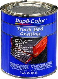 Dupli Color TRQ254 Black Poly Truck Bed Coating 32 oz., (Case of 2) Automotive