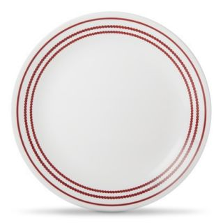 Corelle Color Trim Lunch Plate Set of 6