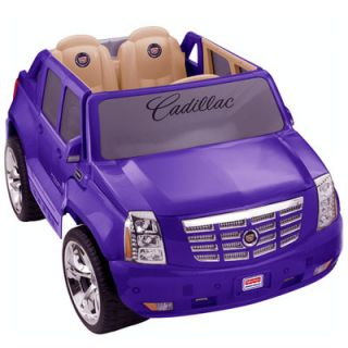Fisher Price Power Wheels Cadillac Escalade 12V Battery Powered Car