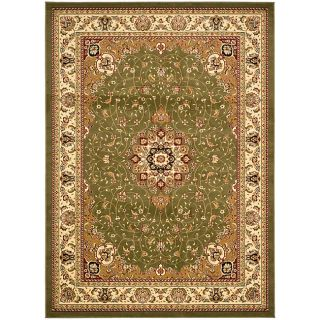 Large Lyndhurst Collection Sage/ivory Rug (8 X 11)