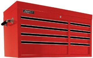 Homak RD02008410 41 Inch Pro Series 8 Drawer Top Chest, Red   Tool Chests