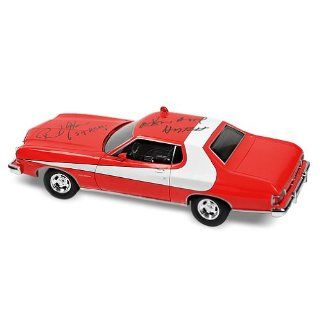 David Soul and Paul Michael Glaser Autographed Starsky & Hutch 118 Die Cast Car David Soul, Paul Michael Glaser Entertainment Collectibles