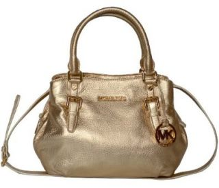 Michael Kors Leather Bedford EW Satchel Handbag Shoes