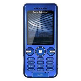Sony Ericsson S302i Quadband GSM Phone (Unlocked) Blue Cell Phones & Accessories