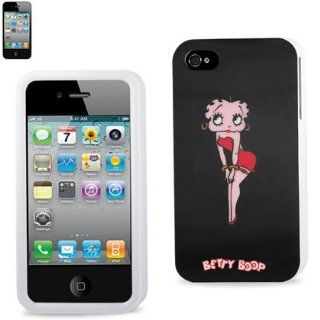 Reiko 3DPC IPHONE4S B309 Betty Boop 3D Premium Durable Designed Hard Protective Case for iPhone 4G/4S    1 Pack   Retail Packaging   Black Cell Phones & Accessories
