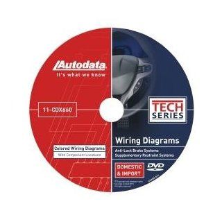 Autodata (ADT11CDX660) 2011 Wiring Diagrams DVD   SRS and ABS