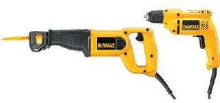 Dewalt DW303MD Dw303k Heavy duty Reciprocating Saw Kit   Power Reciprocating Saws