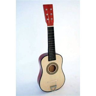 "Crescent 23"" Natural Kids Toy Acoustic Guitar with Accessories Musical Instruments"