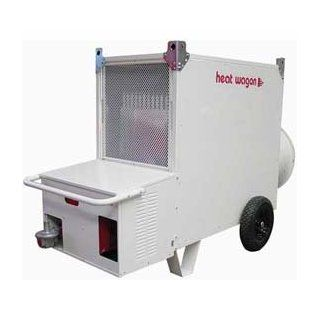 Heat Wagon Indirect Fired Dual Fuel Gas Heater Vg700c   700k Btu, 240v, Ductable Home & Kitchen