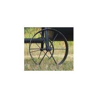Horizon Smokers Replacement Steel Wagon Wheels For Marshal And Ranger Smoker Grills   16 Inch Diameter   Grill Accessories