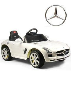 Kids Electric Ride On Car & Parent Remote Control Battery Childs Toy Mercedes Under Licensed Power Wheel With Key For Start FULLY LICENSED REPLICA Toys & Games