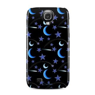 Crescent Moons Design Clip on Hard Case Cover for Samsung Galaxy S4 GT i9500 SGH i337 Cell Phone Cell Phones & Accessories