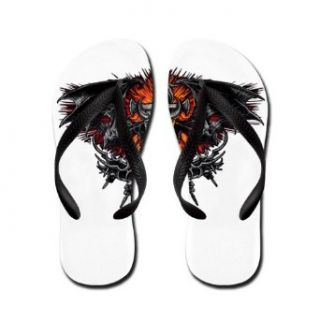 Artsmith, Inc. Kid's Flip Flops (Sandals) Dragon Sword with Skulls and Chains Clothing