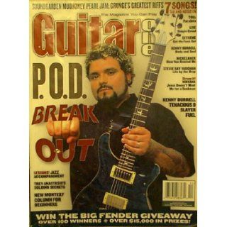 Guitar One Magazine, December 2001 Issue (P.O.D. Marcos Curiel Cover) (Vol 4 No 12) Troy Nelson Books