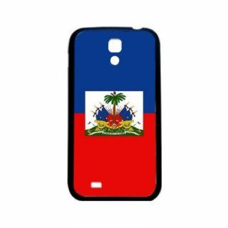 Haiti Flag Samsung Galaxy S4 Black Silcone Case   Provides Great Protection Cell Phones & Accessories