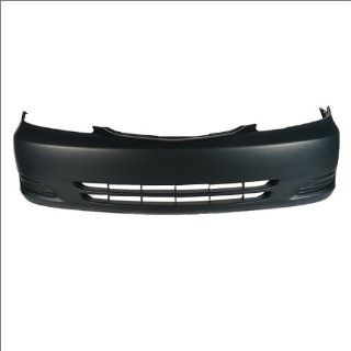 CarPartsDepot, USA Built Front Bumper Cover Primed Assembly w/o Fog Light Hole, 352 44786 10 PM TO1000230 52119AA904 Automotive