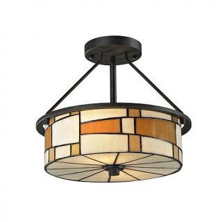 Dale Tiffany Portola Semi Flush Mount Light Fixture