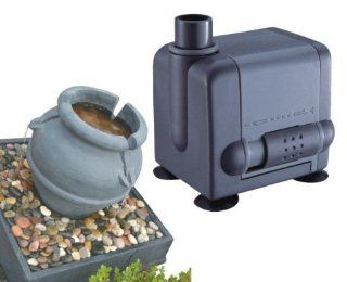 Jebao PP377 Submersible Fountain Pump   105 GPH  Pond Water Pumps  Patio, Lawn & Garden