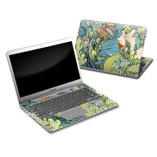 Peacock Feathers Design Protective Decal Skin Sticker for Samsung Series 5 14 inch Ultrabook PC 530U4B A01 Computers & Accessories