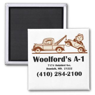 t shirt logo w address fridge magnet