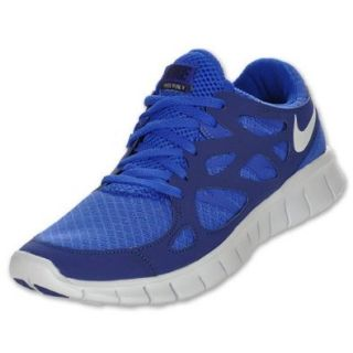 Mens Nike Free Run+ 2 Running Shoe Bright Blue/Pro Platinum/ Loyal Blue Size 15 Shoes