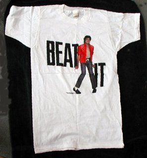 Michael Jackson Beat It T Shirt from 1983   Size Medium Toys & Games