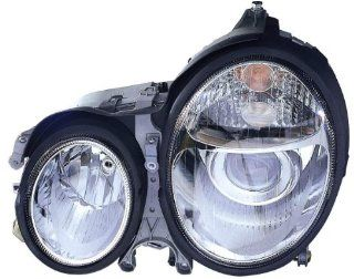 Depo 340 1118PXAS Mercedes Benz E Class Chrome Headlight Assembly Projector Automotive
